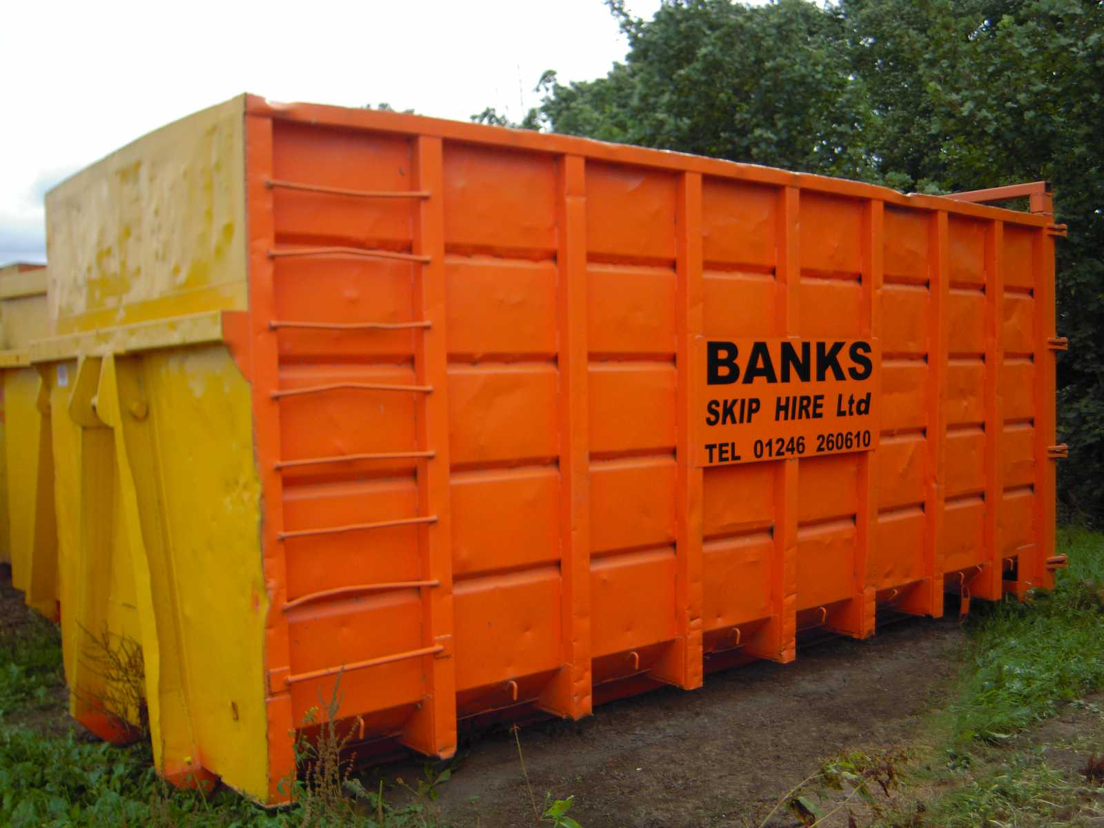 Banks Skip Hire Chesterfield